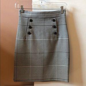 Dressy, plaid skirt
